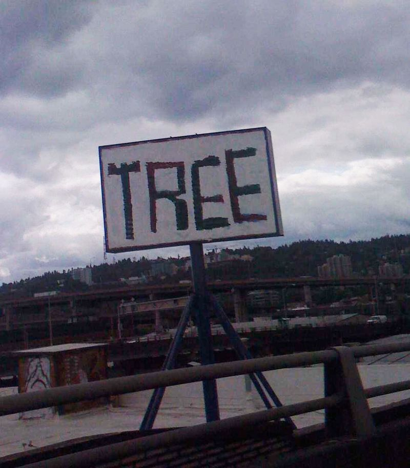 Tree-Hawthorne-Sign