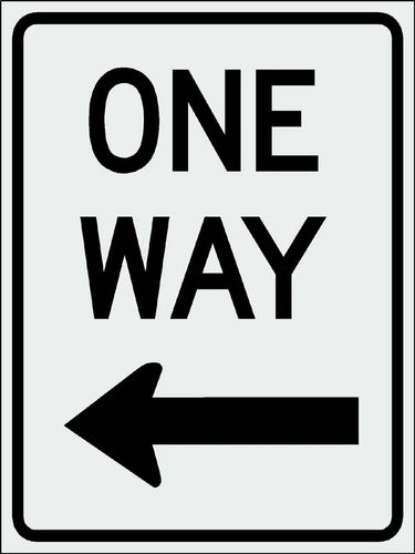 One way1