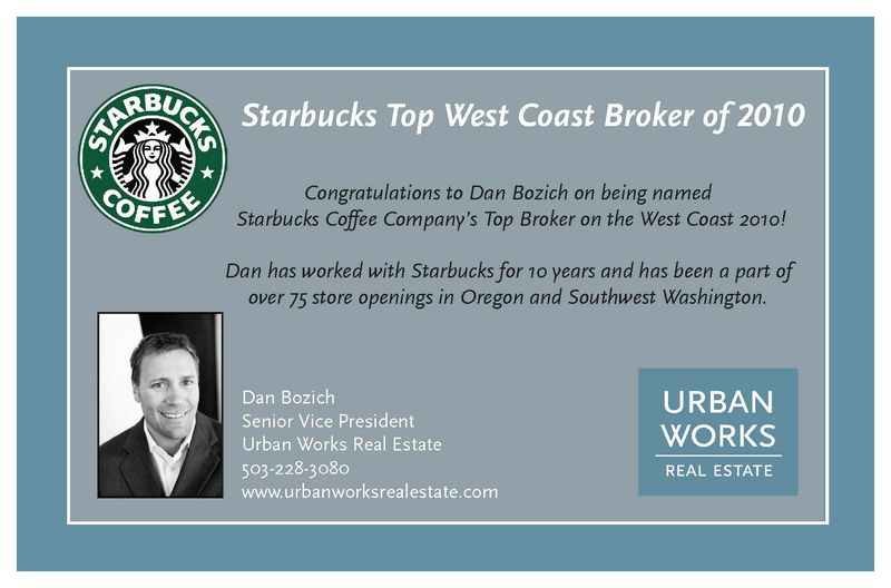 Starbucks Top Broker 2010