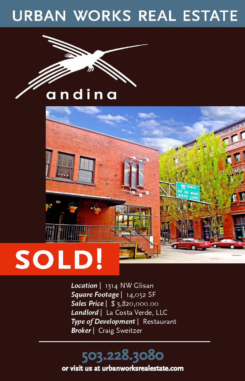 Andina-SOLD!