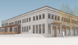 Stagecraft building rendering