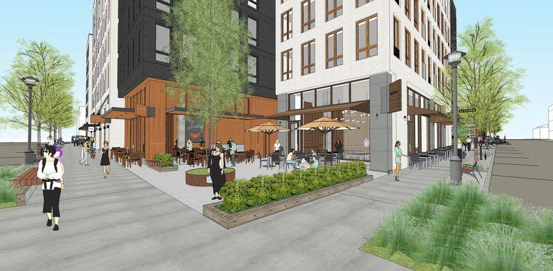Block 296 Development Renderings-courtyard